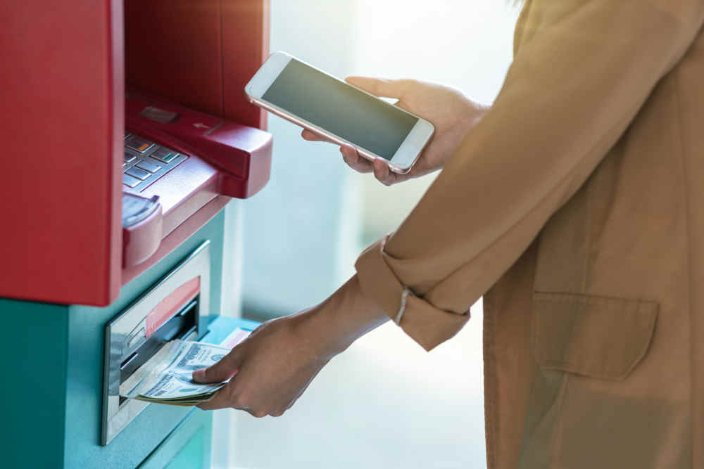 Finding ATMs for an Online Checking Account